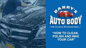 Hints On How To Clean How To Clean Polish And Wax Your Car Youtube
