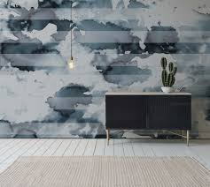 Interior Design Trends 2017 Interdema Blog Watercolour Stripe Newmor Wallcoverings Wallpaper Pinterest