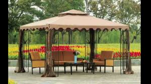 furniture backyard landscape with patio pavers and sunjoy gazebo