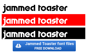 Space Toaster Font Toaster Fonts Djb Tagged Font
