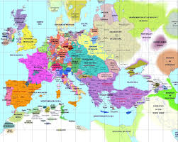 europe map in european history maps