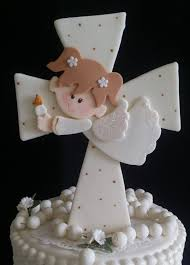 rosary cake topper first communion baptism cake topper