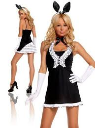Cheap Playboy Bunny Halloween Costumes Cheap Black Playboy Bunny Costume Black Playboy Bunny