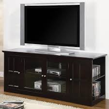 fullerton transitional media console with glass doors lowest price