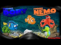 finding nemo dory friends toys hide seek underwater