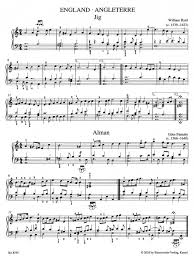various composers baerenreiter piano album baroque 44 easy to
