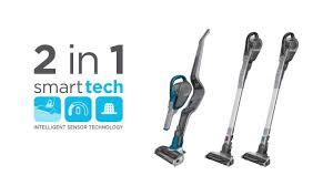 Black Decker Cordless Vacuum Cleaners With Smart Tech Sensors A