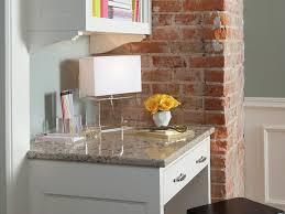 powell kitchen island granite countertop kitchen cabinet refrigerator hgtv