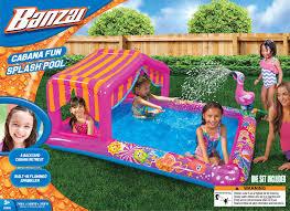 banzai cabana fun splash pool 74