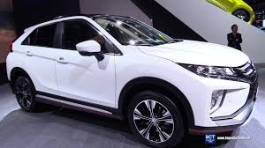 mitsubishi suv blue 2018 mitsubishi eclipse cross exterior interior walkaround