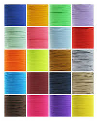 stretchy ribbon 6mm coloured flat elastic trim 22 colours cord trimming stretchy