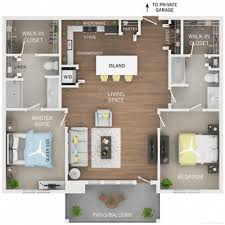 two bedroom two bath floor plans 2 bed 2 bath apartment in arbor mi oakcliff apartments