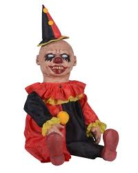spirit halloween displays giggles clown zombie baby prop only at spirit halloween 59 99