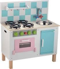 cuisine dinette enfant cuisine de dînette en bois de luxe pastel pour enfant chez les