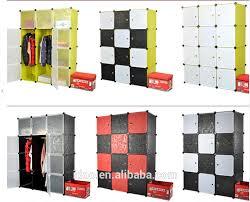 Wardrobe Storage Cabinet Portable Clothes Closet Storage Baby Clothes Storage Cabinet Fh