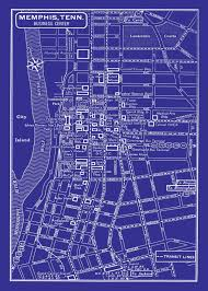 Memphis Tennessee Map by Downtown Memphis Map Map Of Downtown Memphis Tennessee Usa