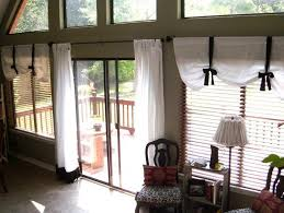 Window Dressings For Patio Doors Window Treatments For Sliding Glass Doors Ideas Treatment Door