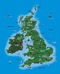 Map Of Britian Tourist Map Of Britain Uk Maps Maps Of United Kingdom Of Great
