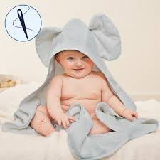 grey elephant hooded towel jojo maman bebe grey elephant hooded towel