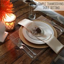 Thanksgiving Table Setting by Pitterandglink Simple Inexpensive Thanksgiving Table Setting