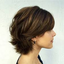 can you have a feathered cut for thick curly hair 60 classy short haircuts and hairstyles for thick hair