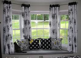 Bay Window Curtain Designs Curtain Rods For Bow Windows Window Curtains Designs And Ideas