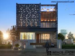 Home Interior Design Jalandhar by Spaceracearchitects Exterior Elevation Jalandhar Architecture