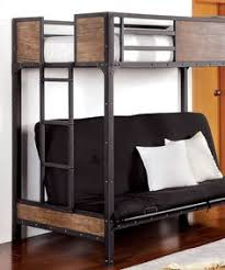 bedroom furniture samba full futon bunk bed with blue futon