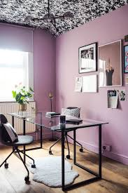office makeover reveal lavender black and brass vibes u2014