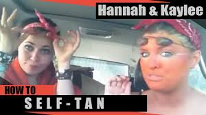 White Girl Tanning Meme - hannah kaylee aka thelma louise self tanner youtube