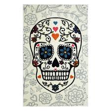 mohawk home area rugs mohawk home sugar skull multi 5 ft x 8 ft area rug 477653 the