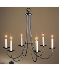 Forged Chandeliers Hubbardton Forge 101160 Simple Sweep 26 Inch Wide 6 Light