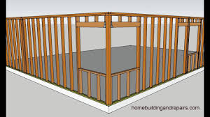 four examples of how to frame corner window walls u2013 home building
