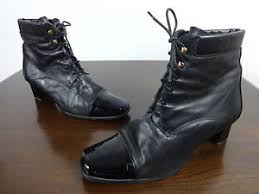 womens boots size 7 5 womens boots size 7 5 clarks black leather k series retro lace