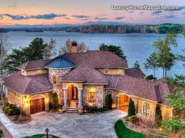 villa style homes tuscan style villa with premier views on lake norman 15 beautiful