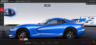Dodge Viper Quality - build your own dodge srt viper right foot down