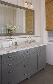 full overlay paint grade shaker style bathroom vanity cabinet in