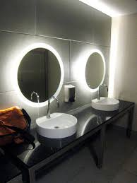 Backlit Mirror Bathroom by Restaurants Restrooms Design Google Search Asia Sf From Ayman