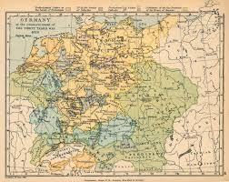 Bremen Germany Map by Germany At The Commencement Of The Thirty Years War 1618 Full Size