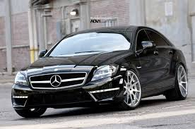 mercedes cls 63 amg mercedes cls63 amg on adv10 concave wheels autoevolution