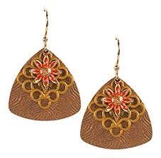 jody coyote earrings jody coyote earrings qn369 01 desert bloom collection