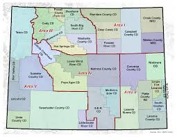 Sheridan Wyoming Map Conservation Districts