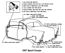 1957 bel air wiring diagram on 1957 images free download wiring