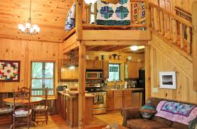 nc cabin natural wooded setting