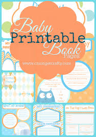 best baby book printable baby book pages free