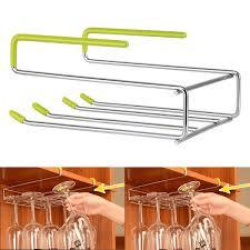kitchen beautiful kitchen decoration with stemware rack