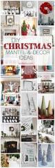 Creative Diy Christmas Decorations Diy Christmas Mantel And Decor Ideas Mantel Ideas Diy Christmas