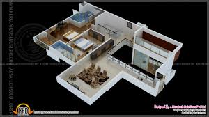 2bhk with porch 3d home ideas 2017 and kerala design floor picture