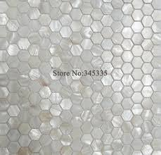 Online Buy Wholesale White Hexagon Tile From China White Hexagon - Hexagon tile backsplash