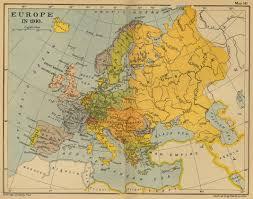 Map Of Europe 1938 by Nine Kings 1910